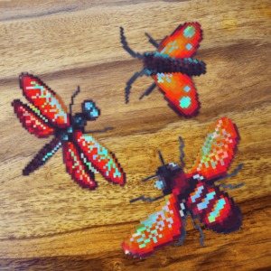 Holographic Insects (Sticker)